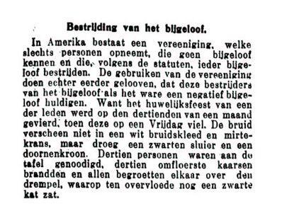 Uit de Leeuwarder Courant van 13 april 1935