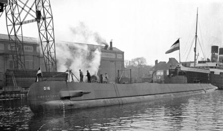 Zorgen over oorlogsgraf onderzeeër O-16