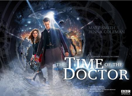 Doctor Who: The Time of the Doctor - poster