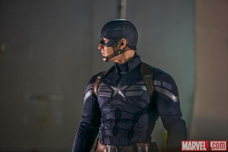 Chris Evans als Captain America in The Winter Soldier