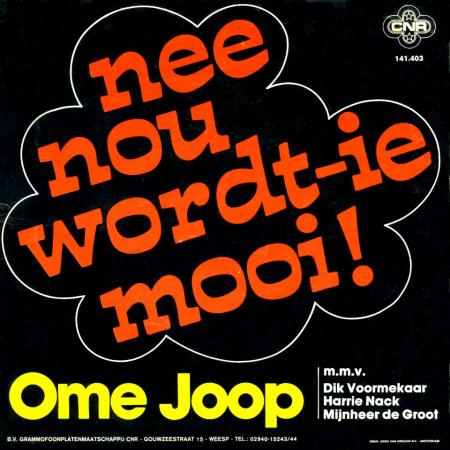 Nee Nou Wordt-ie Mooi (1977)