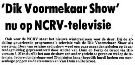 Uit het Nieuwsblad van het Noorden van 14 september 1977