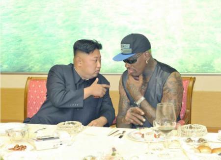 Basketballer Rodman baalt van kritiek