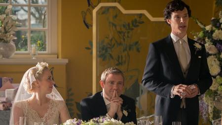Sherlock: Holmes geeft een speech