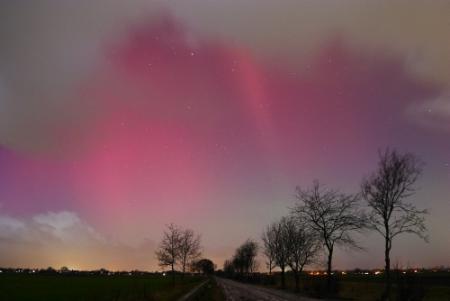 'Kans om noorderlicht te zien in Nederland'