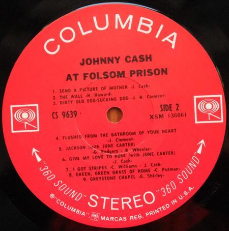 Johnny Cash at Folsom Prison b