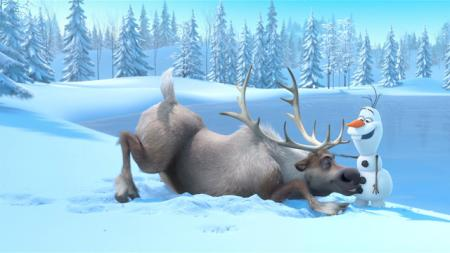 De Golden Globe voor Beste Animatiefilm gaat naar Frozen