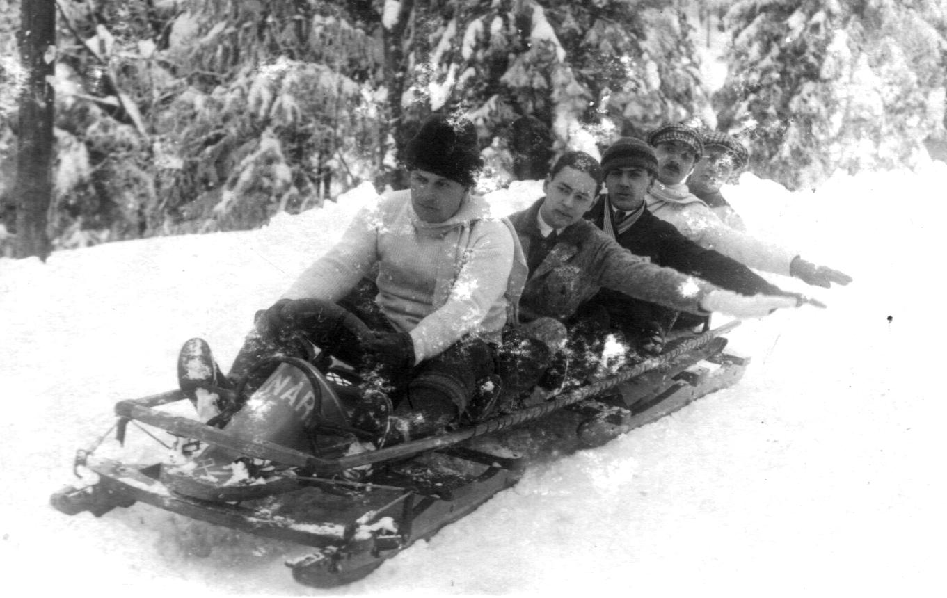 Bobsleeën in Roemenië in 1914