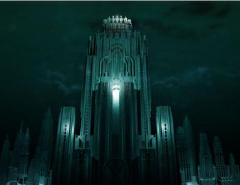 Eerste concept art BioShock film (Bron: Horror Movies)