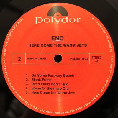 Eno - Here Come The Warm Jets b