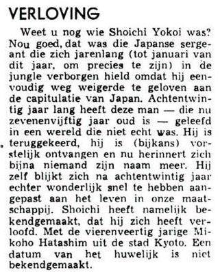 Uit de Leeuwarder Courant van 11 oktober 1972