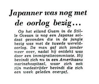 Uit de Leeuwarder Courant van 23 mei 1960
