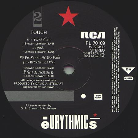 Eurythmics - Touch B