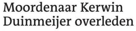 Uit de Leeuwarder Courant van 9 januari 2012