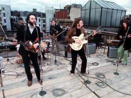 The Beatles - Rooftop 3