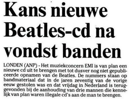 Uit de Leeuwarder Courant van 13 januari 2003