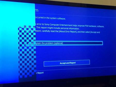 PlayStation 4 probleem