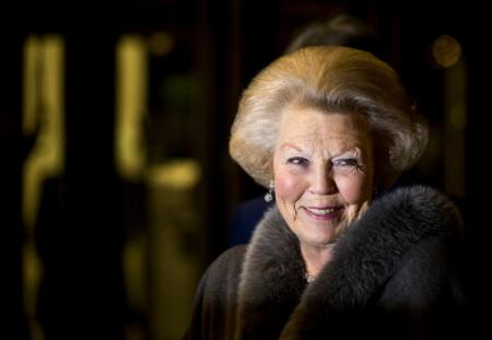 Prinses Beatrix naar Sint Maarten