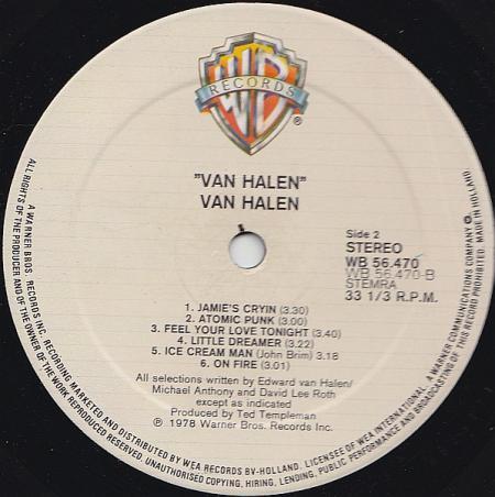 Van Halen B