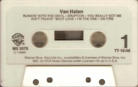 Van Halen tape