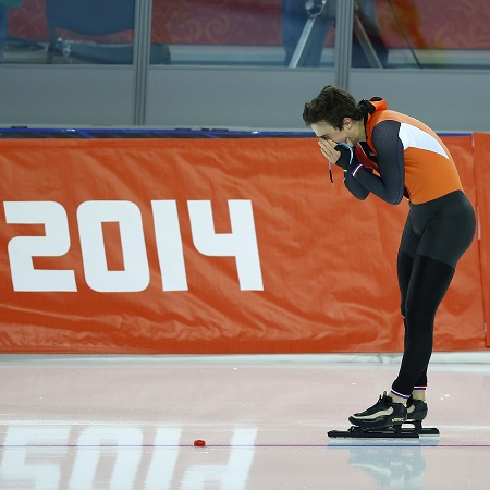 Jan Smeekens beseft dat hij geen goud maar zilver heeft behaald op de 500 meter (PRO SHOTS/Henk Jan Dijks)