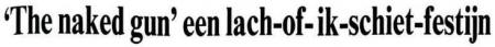 Uit de Leeuwarder Courant van 28 april 1989