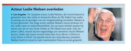 Uit het Dagblad van het Noorden van 30 november 2010