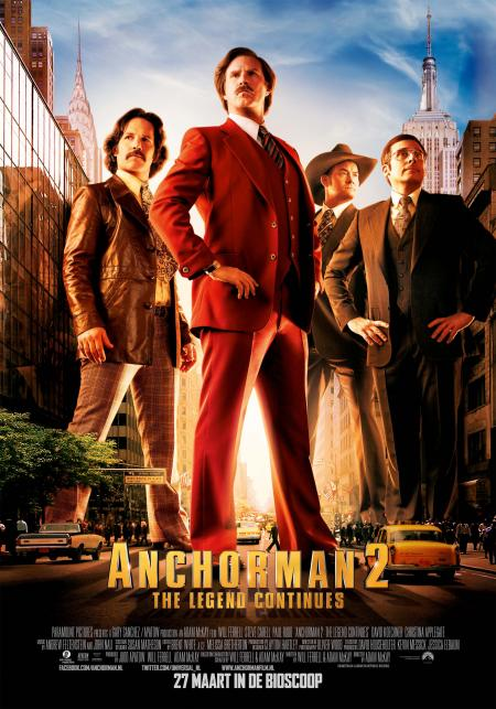 Anchorman 2 filmposter