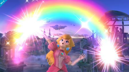 Peach Rainbow power