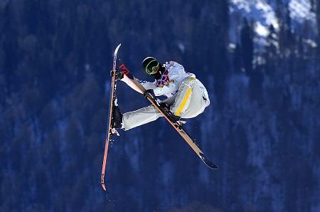Veel spektakel tijdens de slopestyle, hier zie je Oscar Wester in actie (PRO SHOTS/Bildbyran)