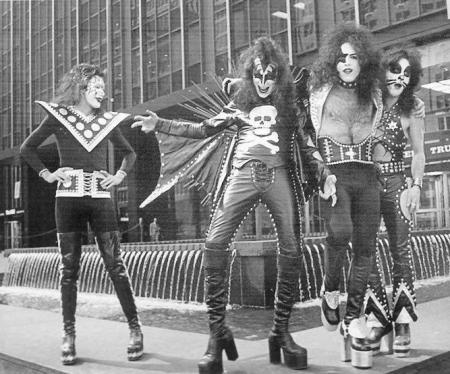 Kiss in 1974