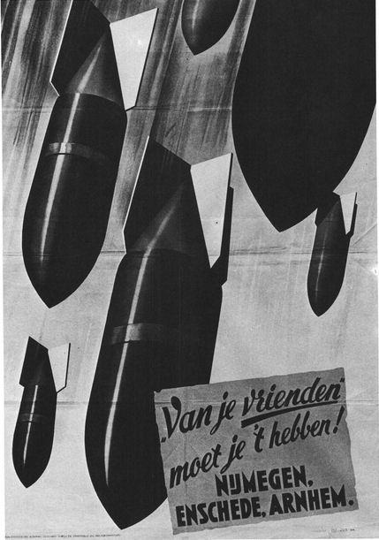 Nazi propaganda poster 1944