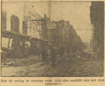 Uit het Dagblad van het Zuiden van 24 februari 1944