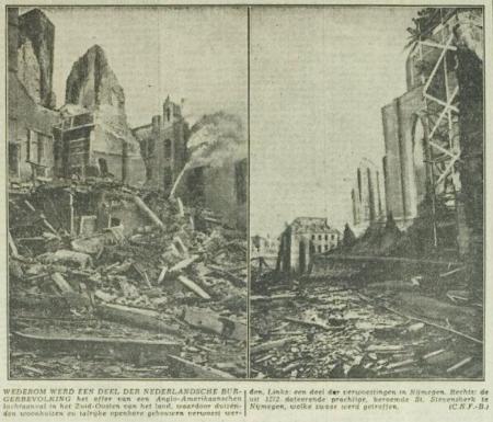 Uit het Rotterdamsch nieuwsblad van 26 februari 1944