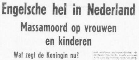 Uit het weekblad van de NSB (Volk en Vaderland) van 25 februari 1944