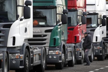 Mogelijk acties vrachtwagenchauffeurs