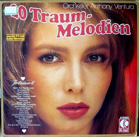 Orchester Anthony Ventura - 20 Traum-Melodien