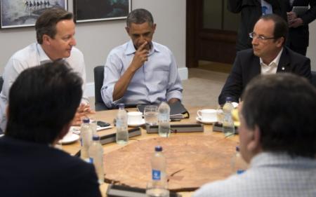 Westen niet naar voorbereiding G8
