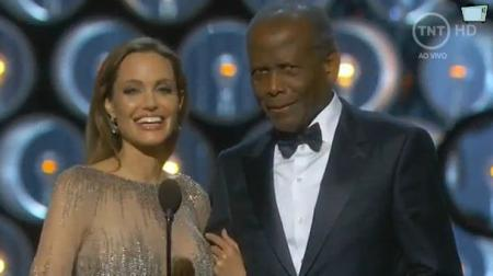 Angelina Jolie en de legendarische Sidney Poitier