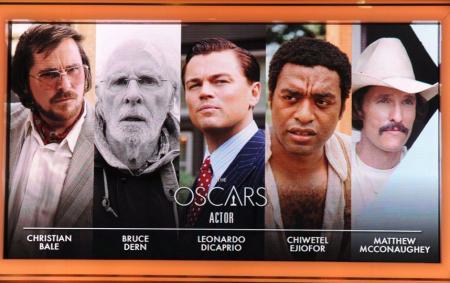 Genomineerde acteurs