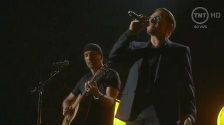 The Edge en Bono van U2
