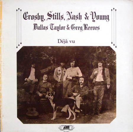 Crosby, Stills, Nash & Young - D?j? Vu (Franse persing)