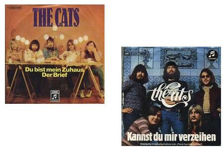 De Duitse singles van The Cats