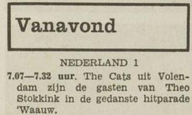Uit Het Vrije Volk van 8 december 1967