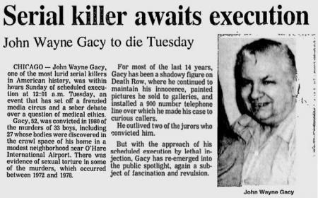 Uit de Bangor Daily News van 9 mei 1984