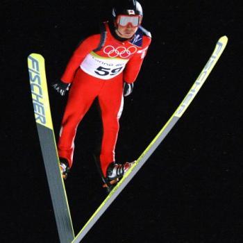 Okabe tijdens de Olympische Spelen in Turijn 2006 (Foto: PRO SHOTS/GEPA)