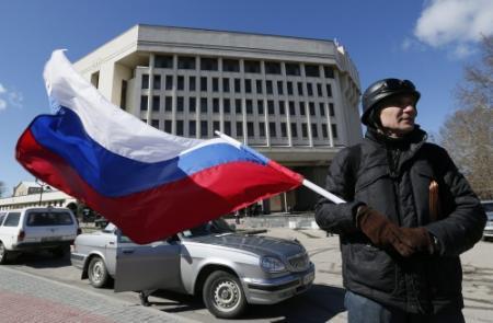 Poetin erkent afscheiding Krim