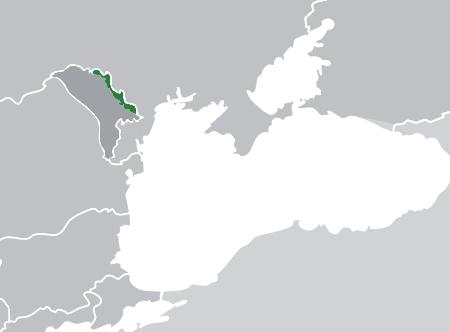 Transnistrië (Kaartje van Wikipedia)