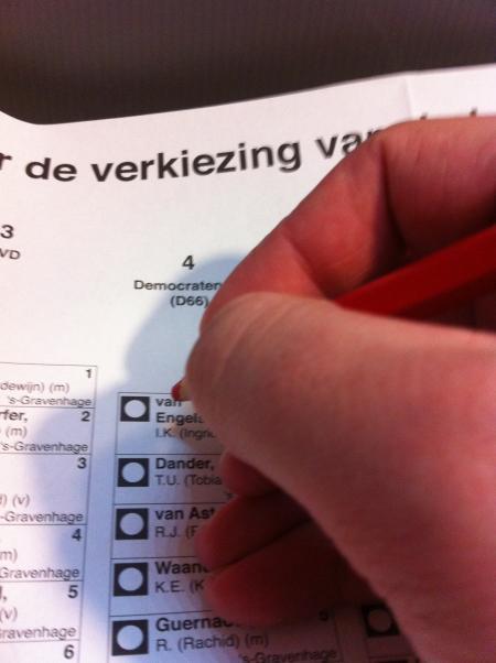 Stemmen!
