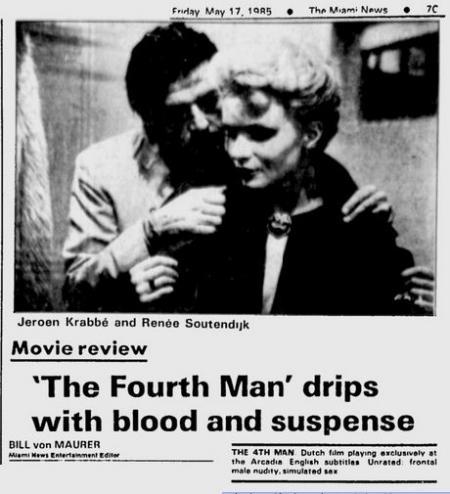 Uit de Miami News van 17 mei 1985